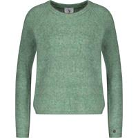 Betzy Sweater Hedge green L Mohair r-neck