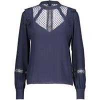 Heidi Blouse Navy Blazer S Viscose party blouse